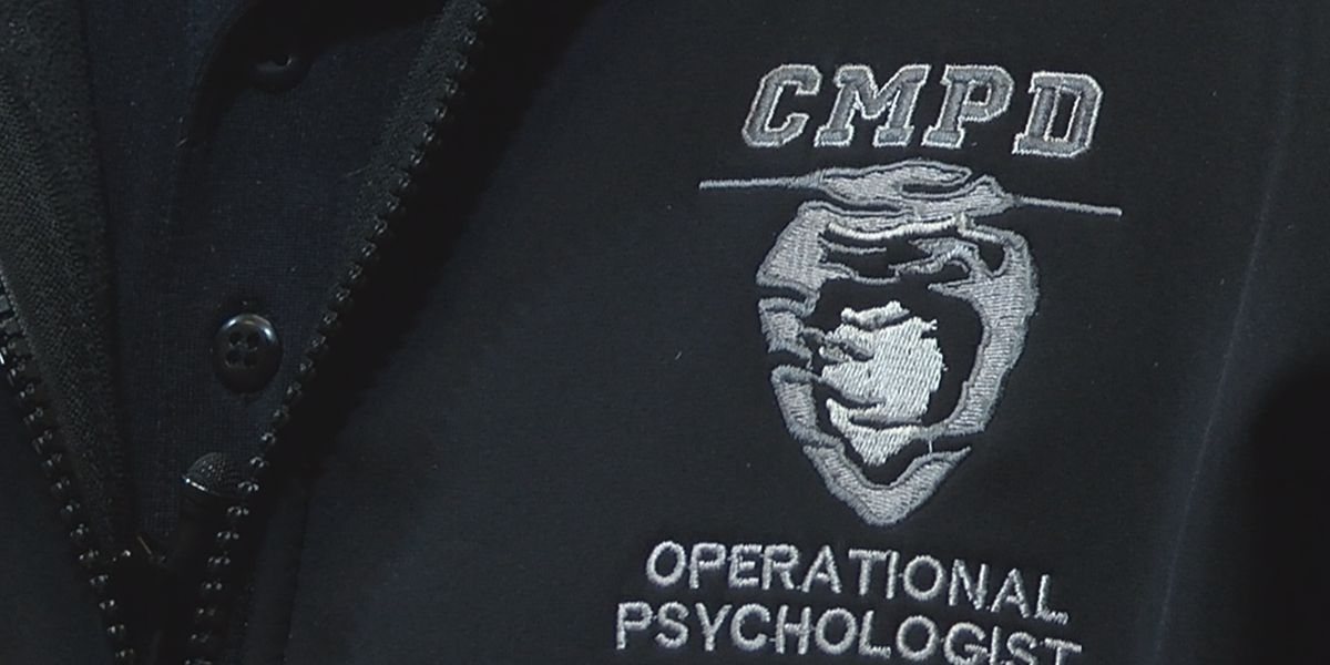 'They're seeing the most awful parts of our society quite a bit.' CMPD psychologist helps with mental health