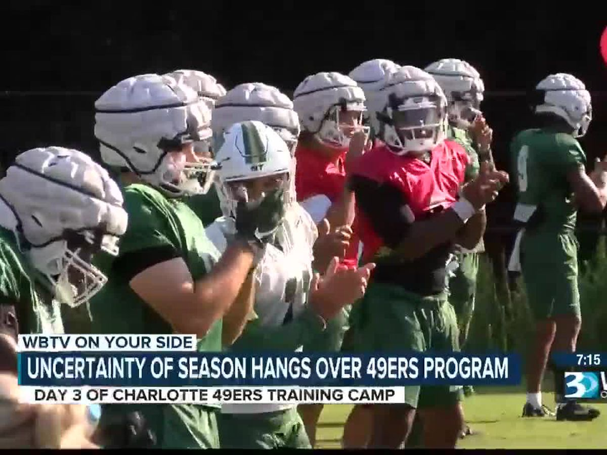Charlotte 49ers deal with the uncertain times of college football