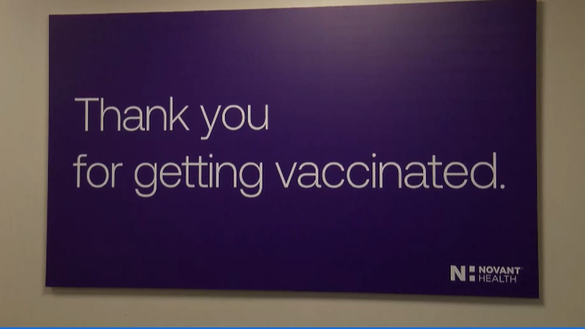 Novant accepting walk-ins for COVID-19 vaccine availability in Charlotte