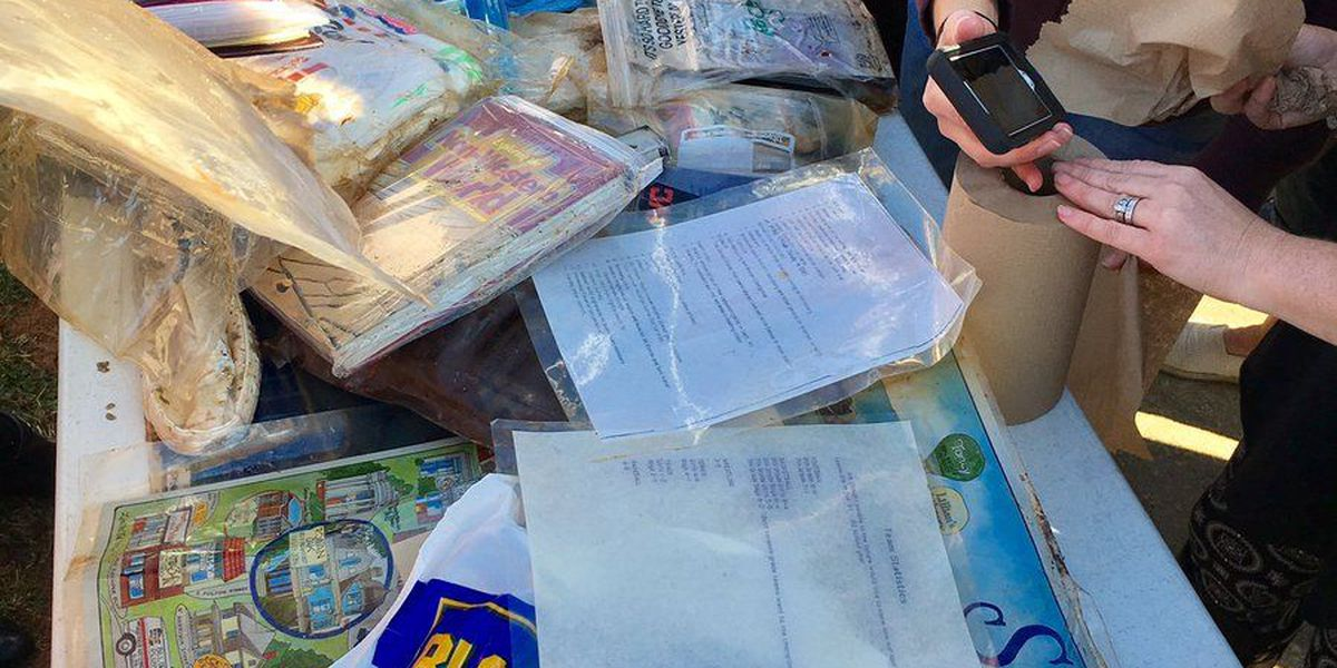 Time capsule from 1992 reveals treasures at West Rowan Middle School