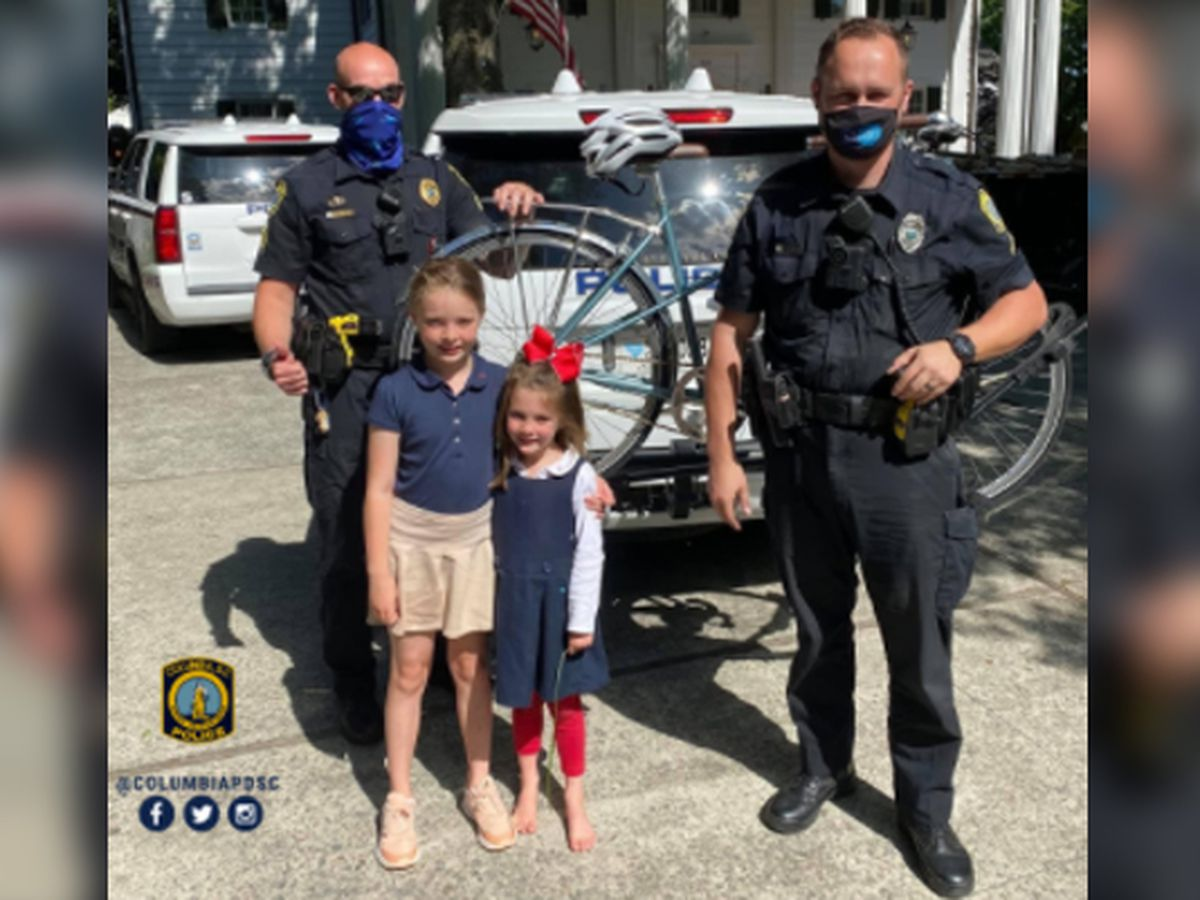 Officers bring smiles to children after recovering mother's stolen gift