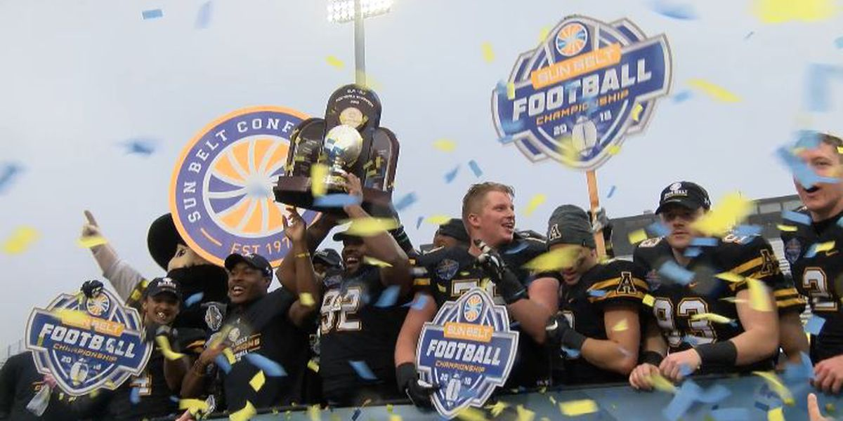 App State wins first Sun Belt Championship game, claims third straight league title