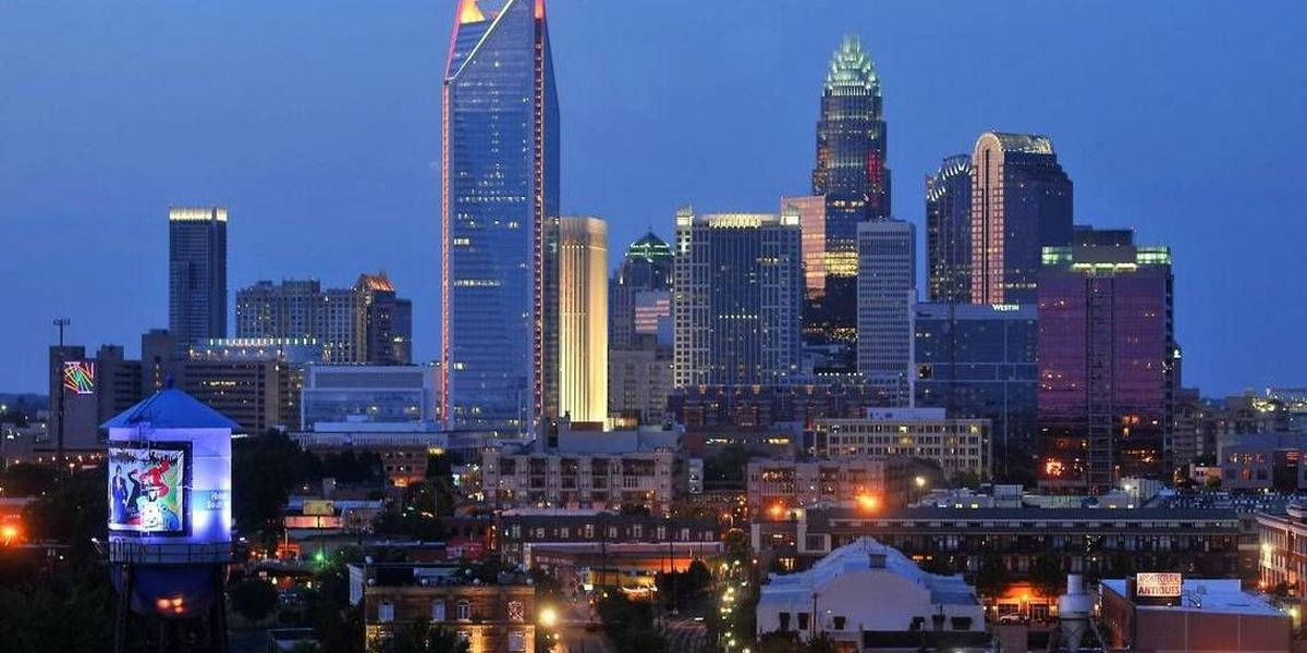 Charlotte skyline will glow blue for national broadcast of ...