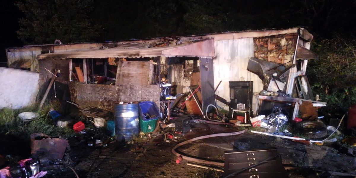 Four displaced after mobile home fire in Rowan County