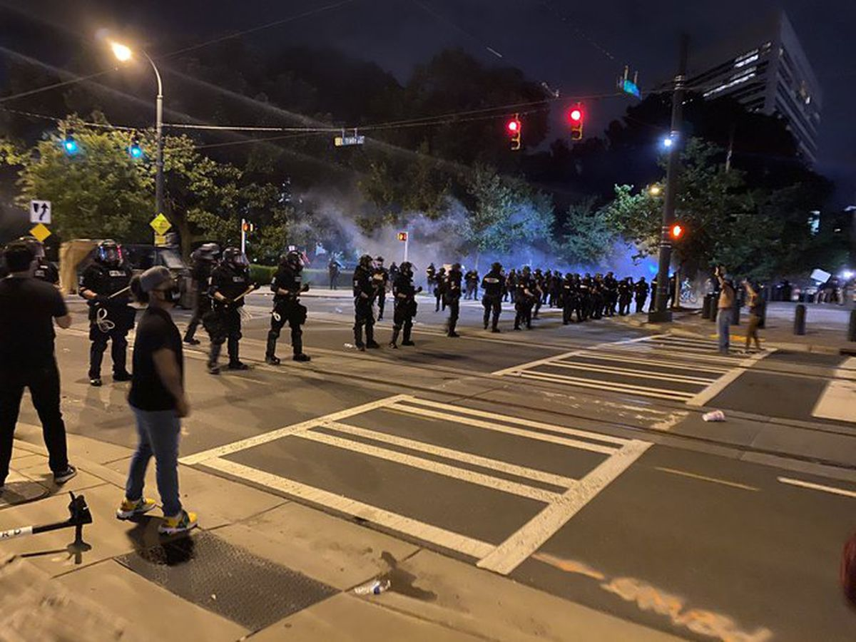 At least 13 arrested during second night of protests in uptown Charlotte