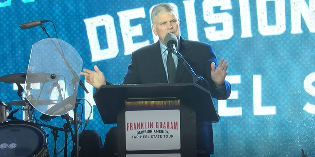 Franklin Graham banned by 2nd UK city over 'repulsive' LGBT+ views, official says