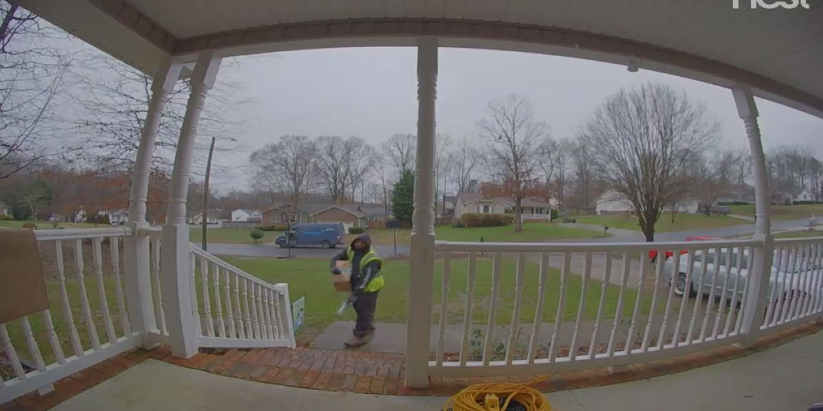 Mount Holly man catches delivery driver tossing package on home security camera
