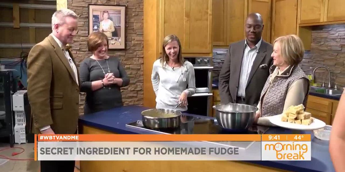 What's the secret ingredient for this delicious fudge?