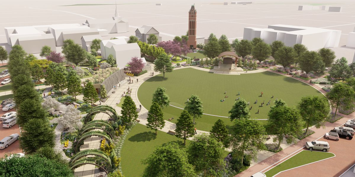 Groundbreaking Saturday for Salisbury's new downtown park