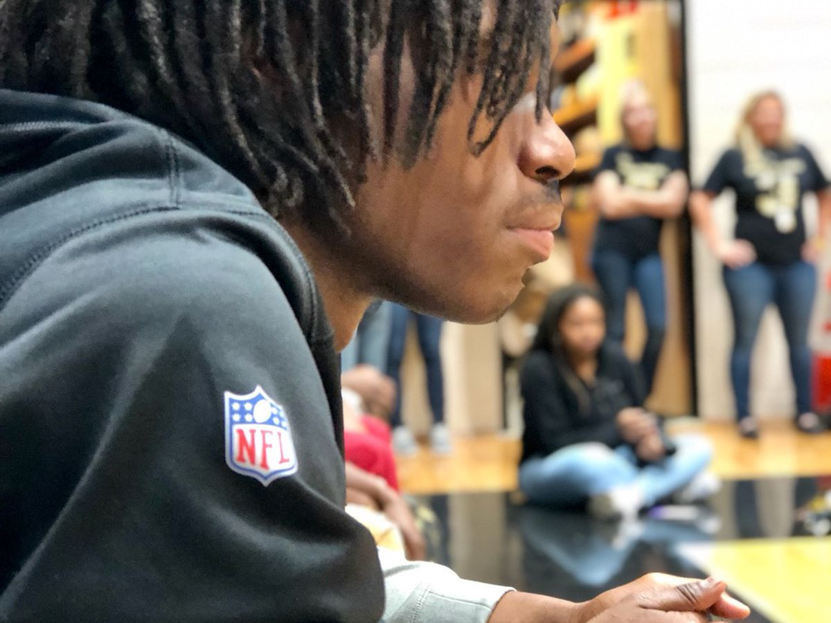 Concord teen gets dream trip to Pittsburgh Steelers -- and gift from hero Antonio Brown
