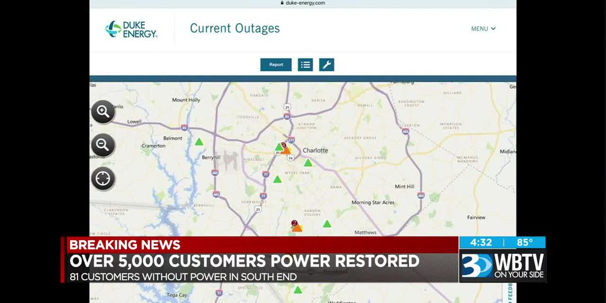 Power restored to over 5,000 customers in South End