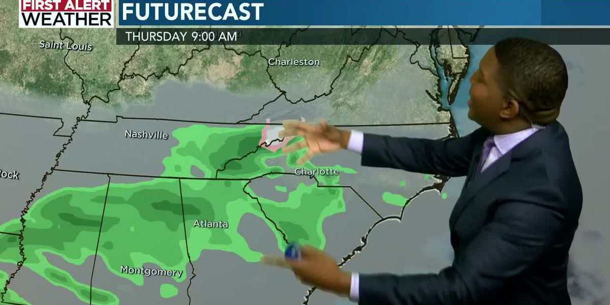 Jonathan Stacey's Tuesday afternoon forecast