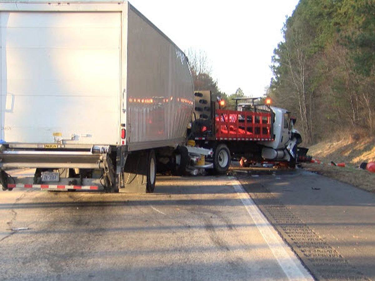 Driver charged after three workers killed at Iredell County interstate work zone