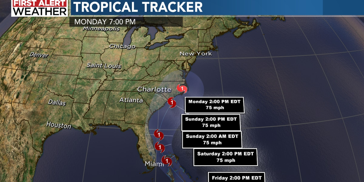 Tropical Storm Isaias is expected to have impacts for the Carolinas