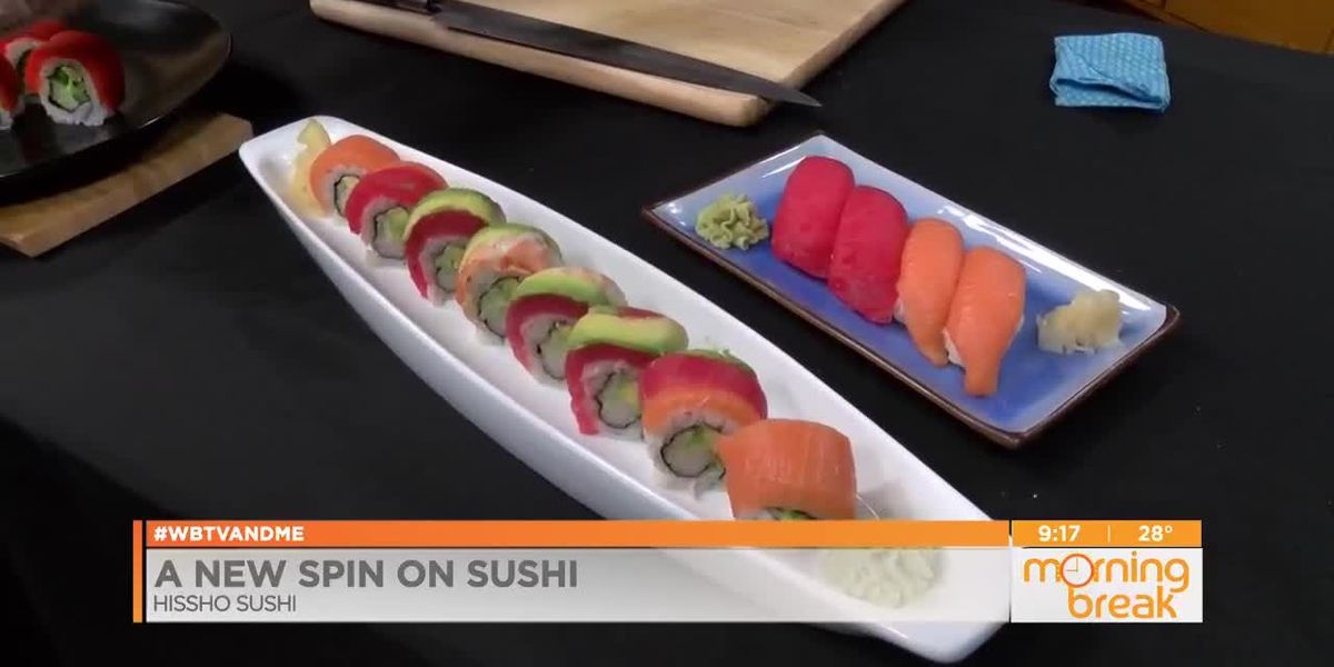 A New Spin On Sushi