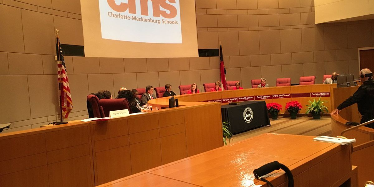 CMS school board welcomes new members and tackles diversity