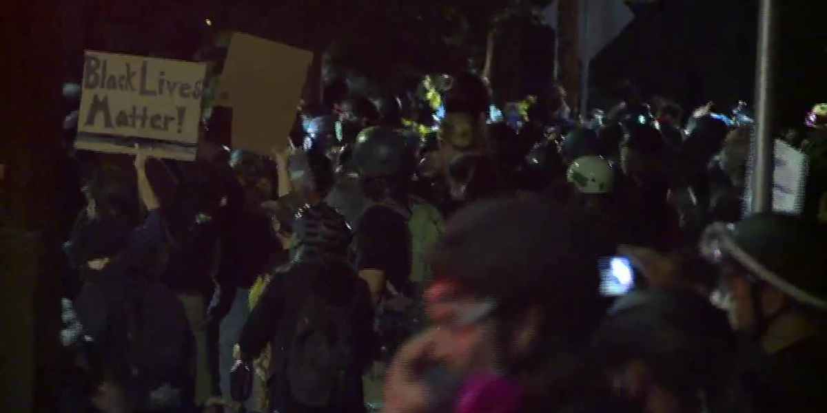 Protests continue in Portland as some decry violence