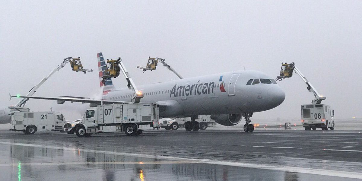 FAA lifts ground stop at Charlotte Douglas after snow, ice in Charlotte