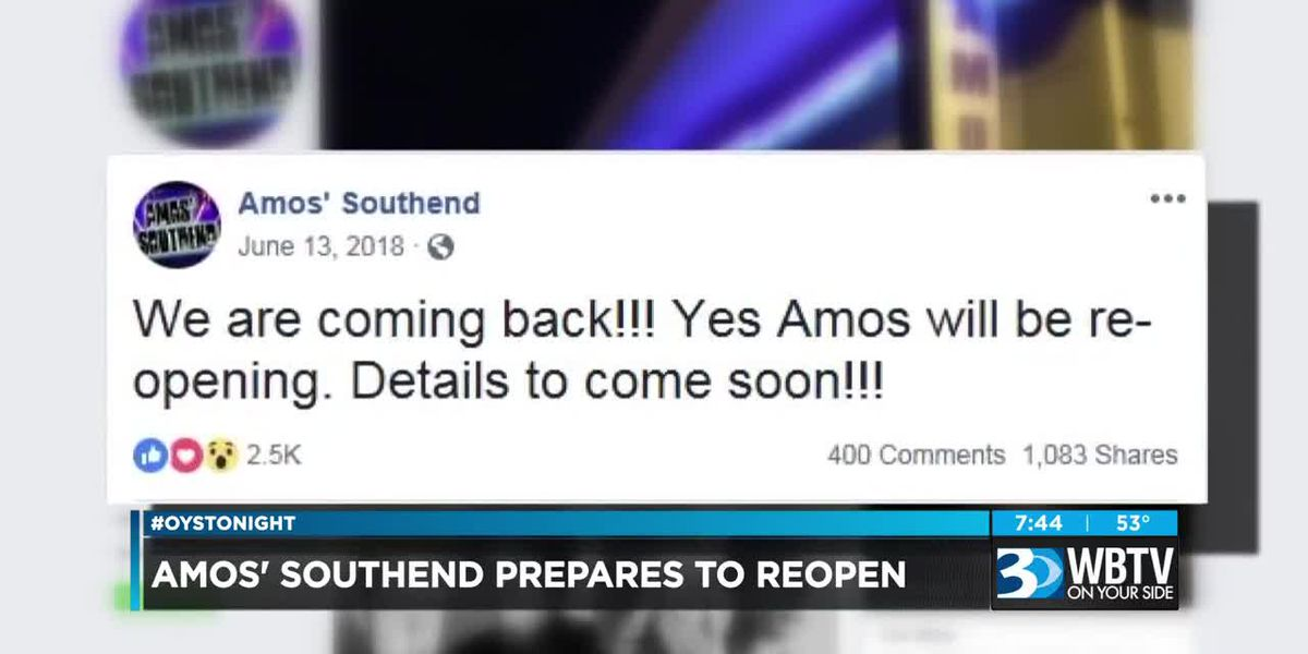 Amos' Southend prepares to reopen in Charlotte