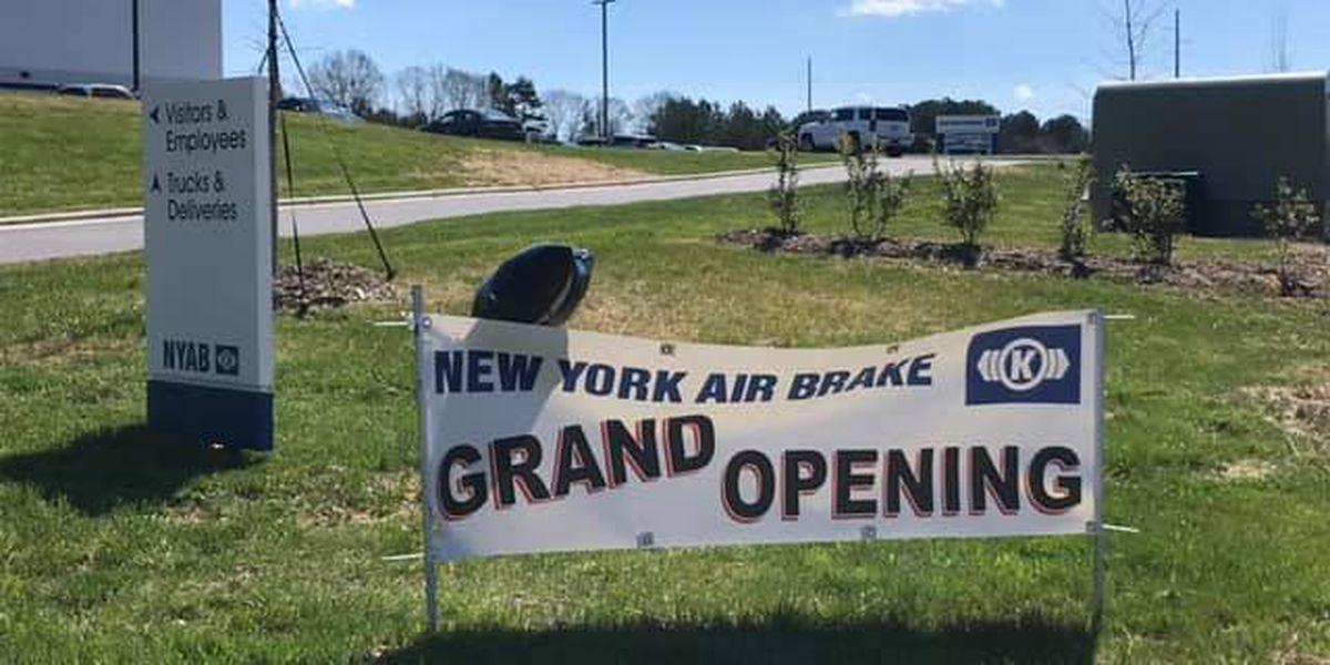 New York Air Brake grand opening on Monday in Rowan County