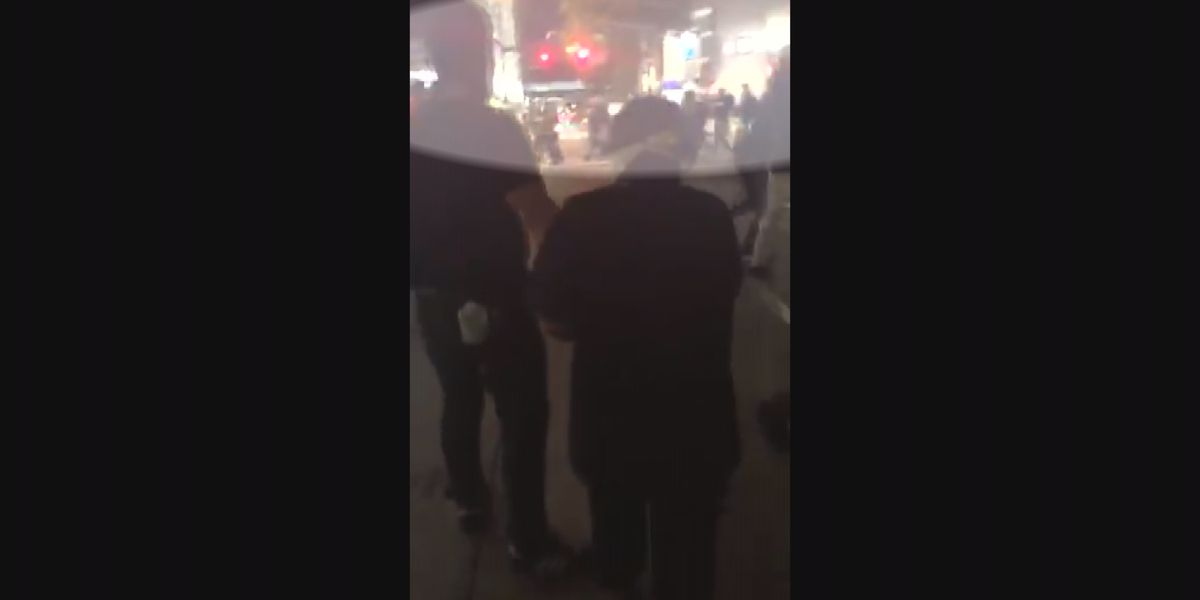 New video shows closer perspective to Tuesday's controversial CMPD protest incident involving tear gas