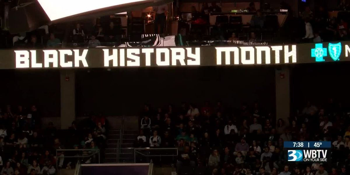 Charlotte Hornets honor the Greensboro Four during Black History Month