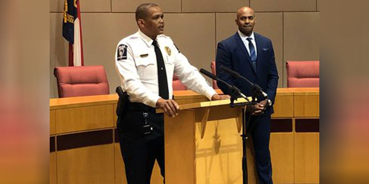Charlotte names next CMPD chief of police: A 'new era'