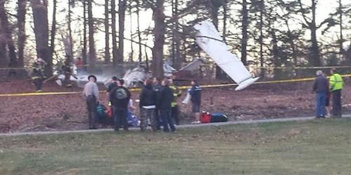 4 Injured when single-engine plane crashes in Long View