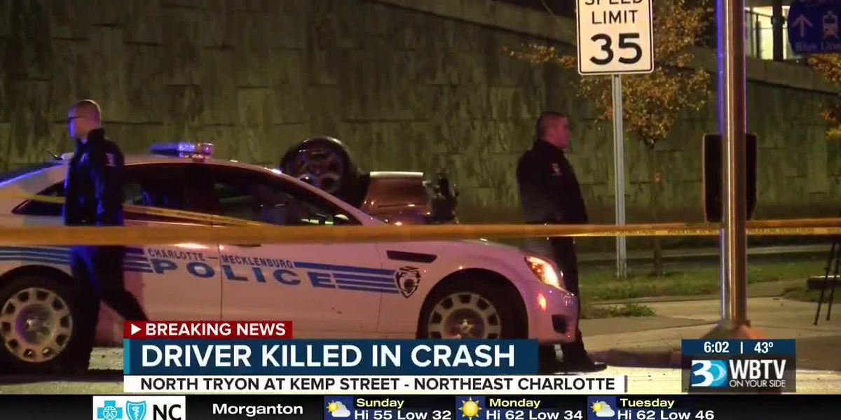 Deadly crash on N Tryon