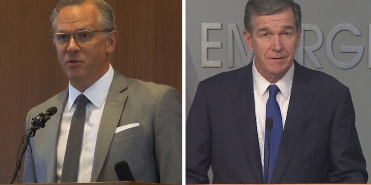 Roy Cooper, Dan Forest agree to Oct. 14 debate