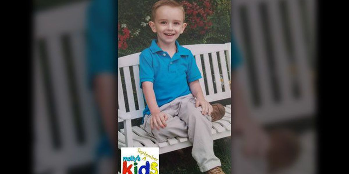 Molly's Kids (Sept 8): Luck? What does LUCK have to do with this 4yo Hickory boy fighting cancer?