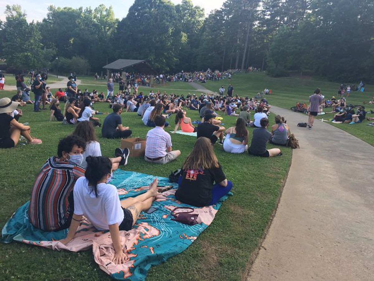 Community gathers at Charlotte's Freedom Park for educational 'People's University' event