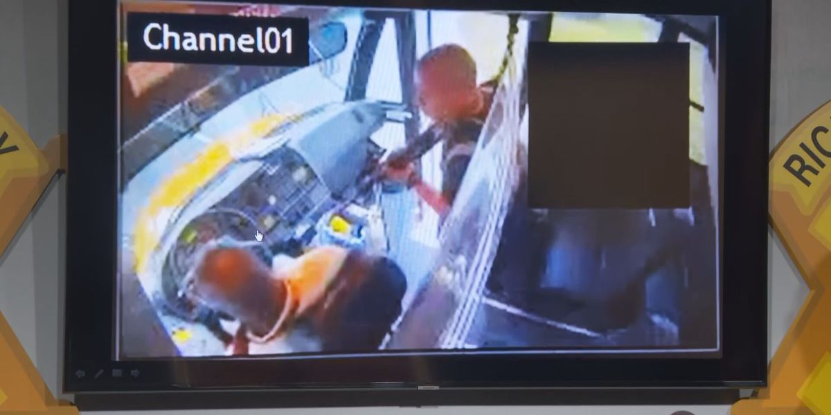 CAUGHT ON CAM: Armed Fort Jackson trainee hijacked SC school bus full of children, police say