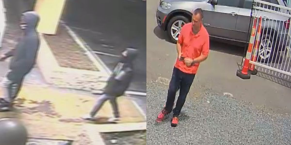 Police looking for suspects from separate crimes at the same east Charlotte shopping center