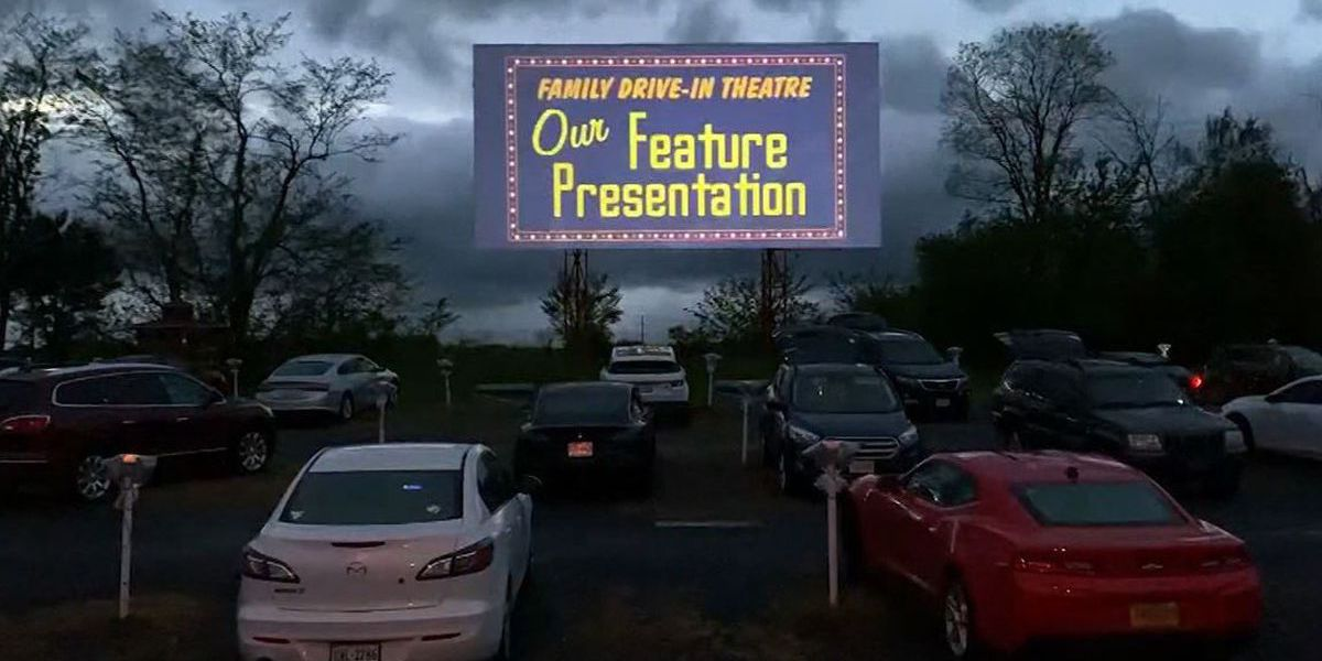 Drive-in movies in Rowan cancelled due to rain