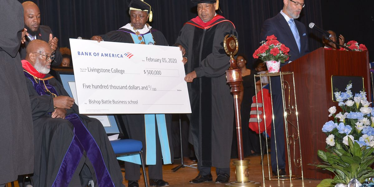 Livingstone honors Bishop Battle on Founder's Day
