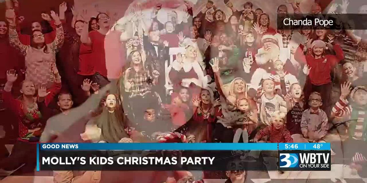 Good News: Molly's Kids Christmas Party