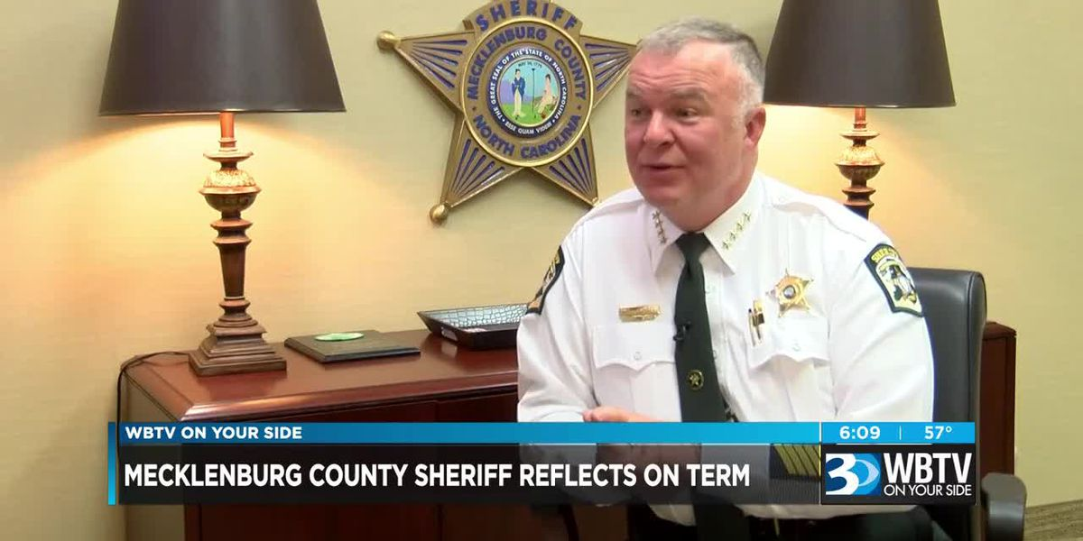 Mecklenburg County sheriff reflects on term