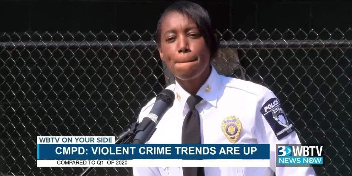 WBTV News Now: CMPD discusses crime stats, emphasizes protecting children from criminal activity