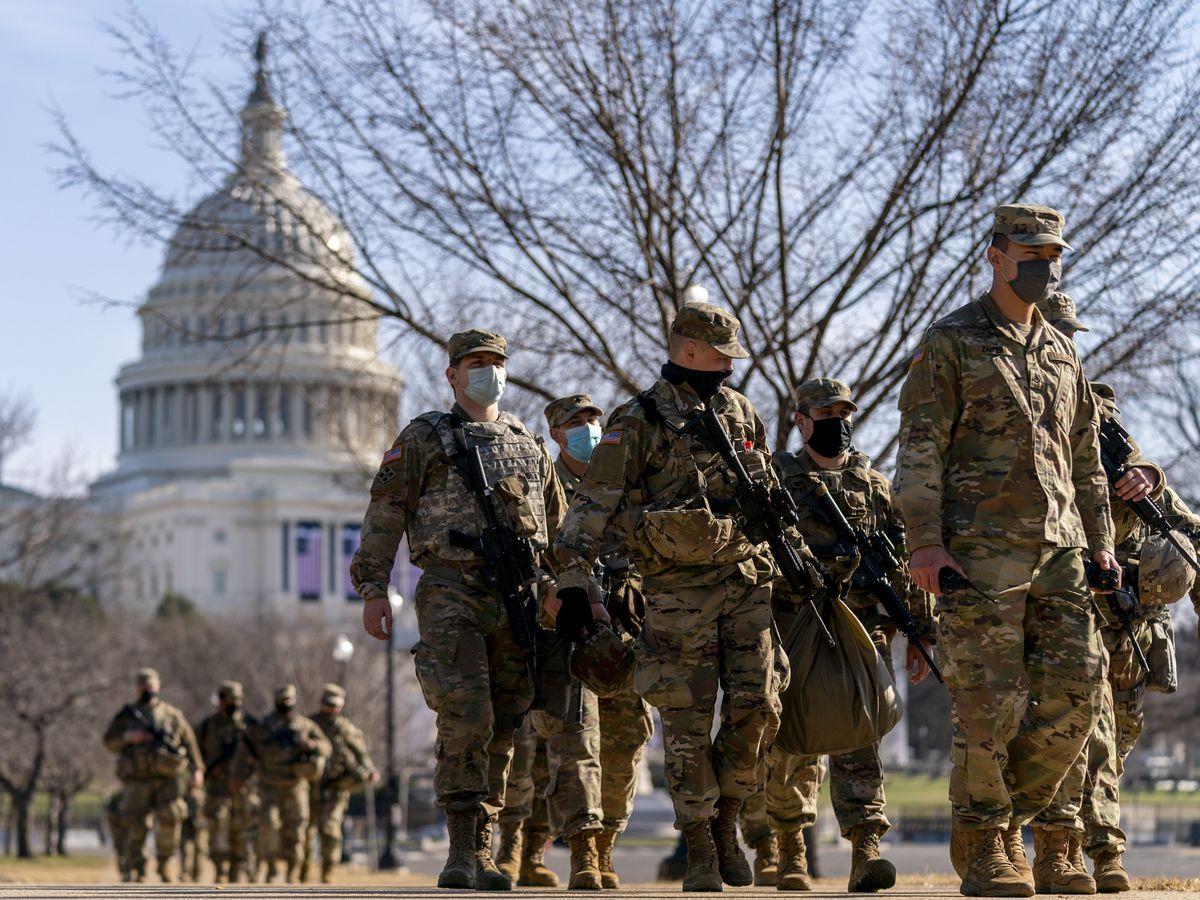 NC governor sending another 100 Guard members to Washington