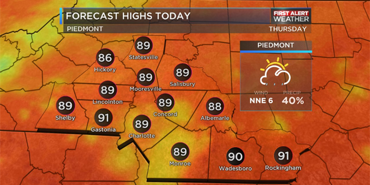 BLOG: Thunderstorms possible late in the day