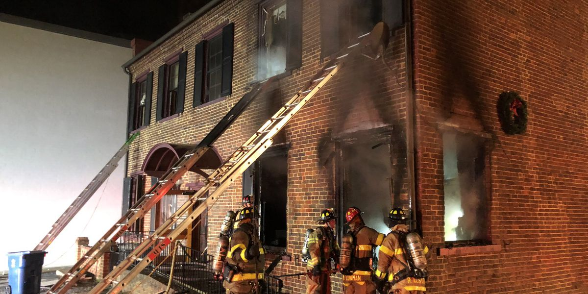 """""""Suspicious"""" fire heavily damages law firm in downtown Salisbury"""