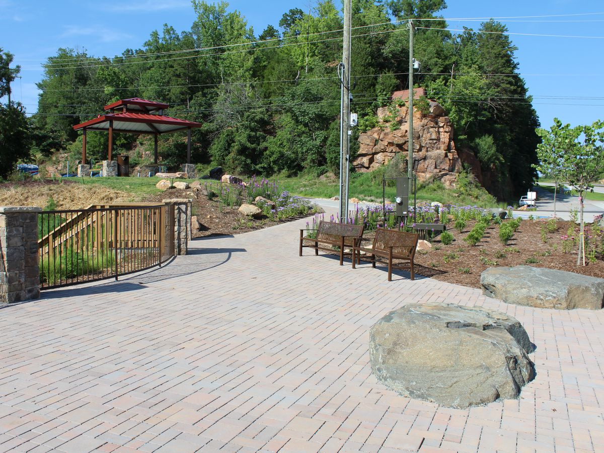 Park at Wil-Cox bridge at Davidson and Rowan County line now open