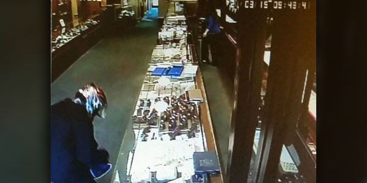 Police look for downtown Hickory jewelry store robber