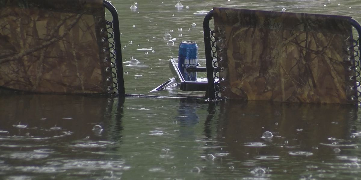 Heavy rain this week causes flooding on Lookout Shoals Lake