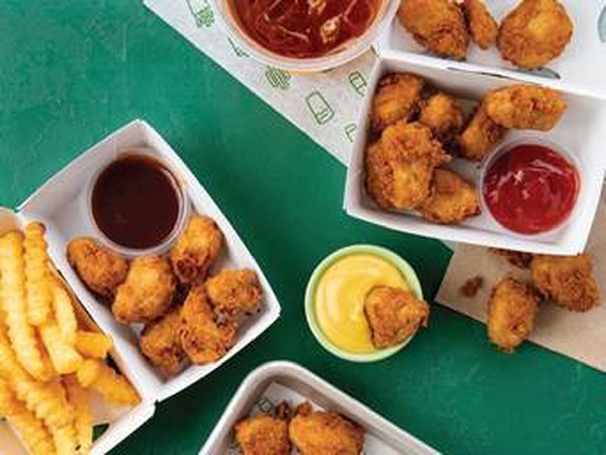 Get in line because Chick'n Bites have come to Shake Shack