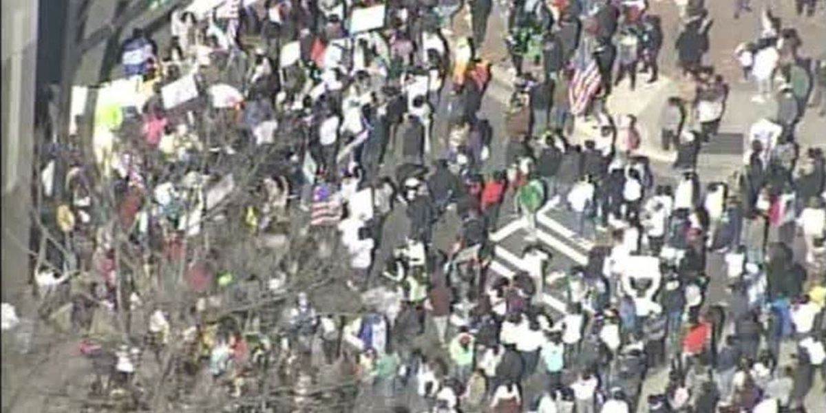 'Day Without Immigrants' protest held in Uptown