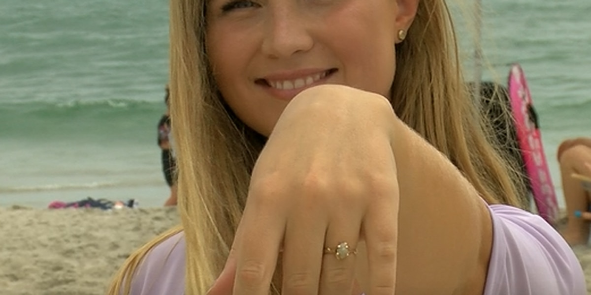 Stranger finds, returns lost engagement ring after fiance takes to Facebook for help