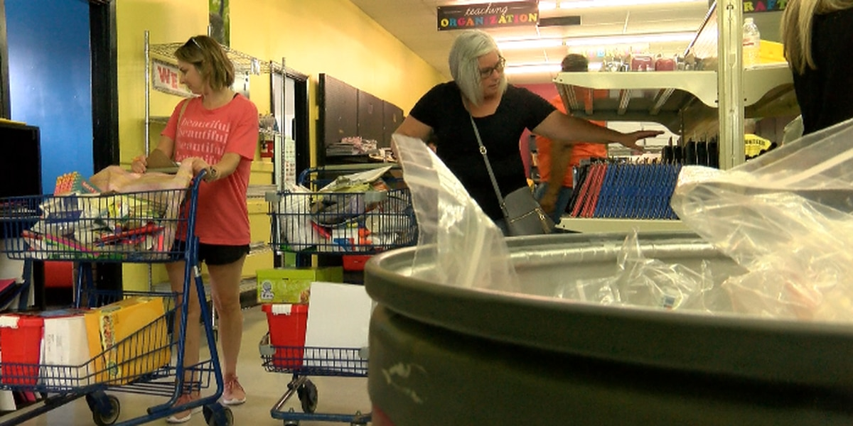 Hundreds of teachers look to local organization to help fund school supplies