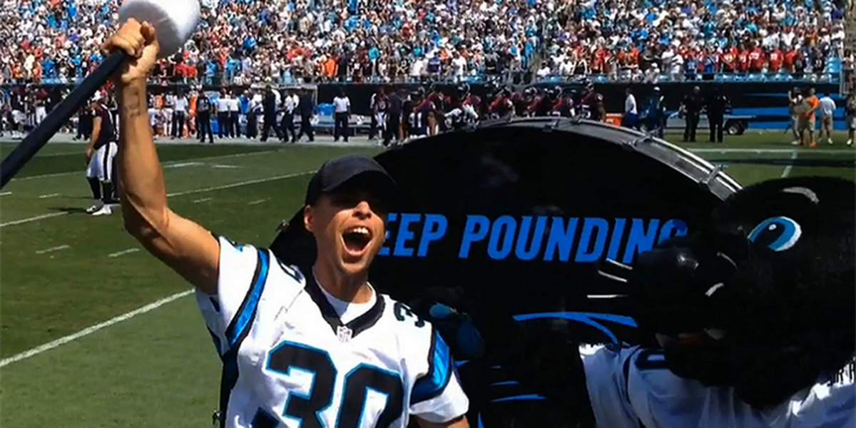 Steph Curry offers a few new thoughts on potential Carolina Panthers ownership